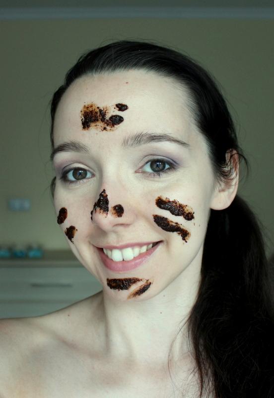 peeling do twarzy DIY