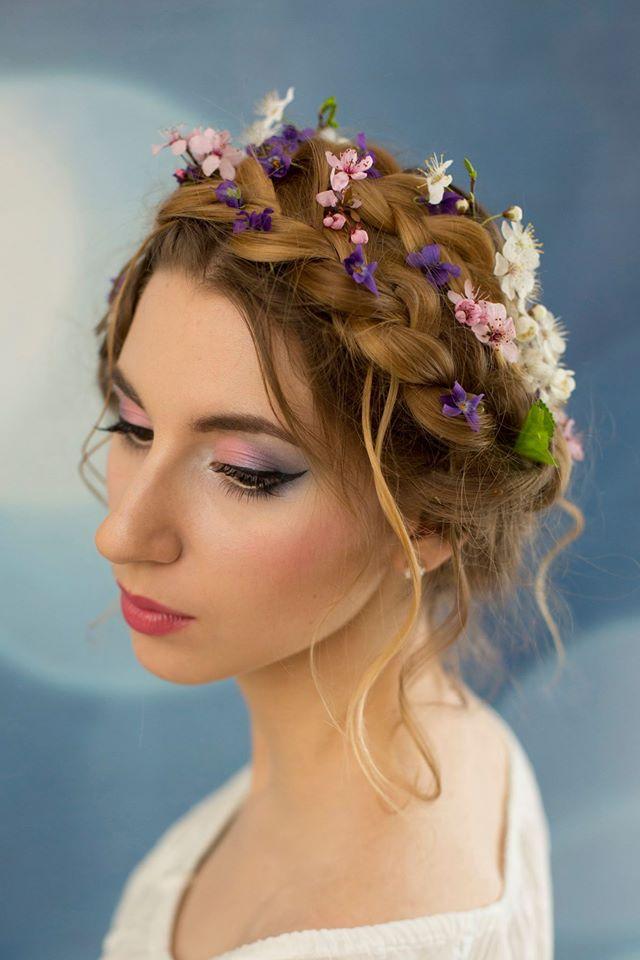 makijaż ślubny boho