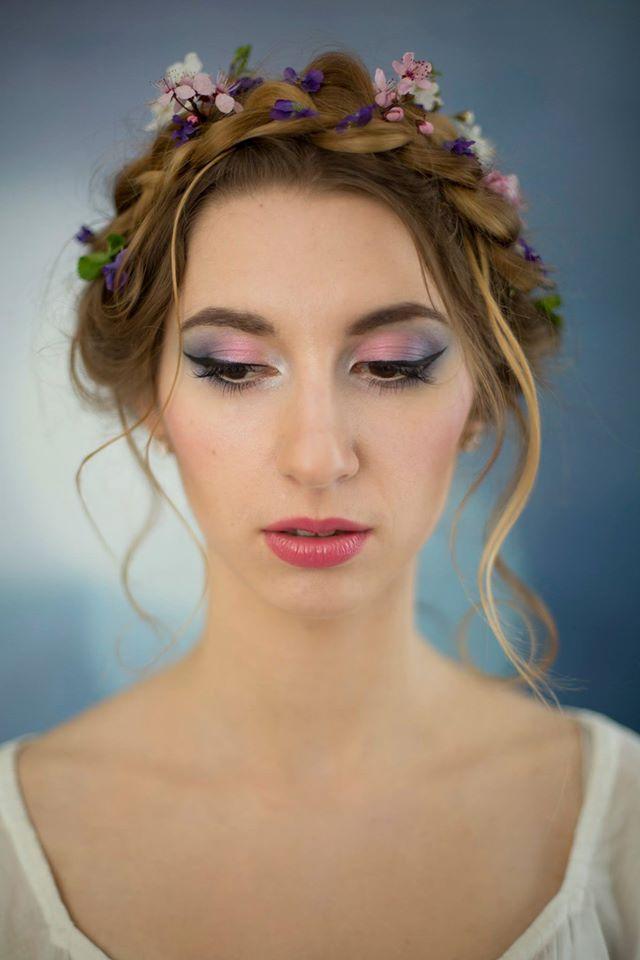 makijaż i fryzura ślubna
